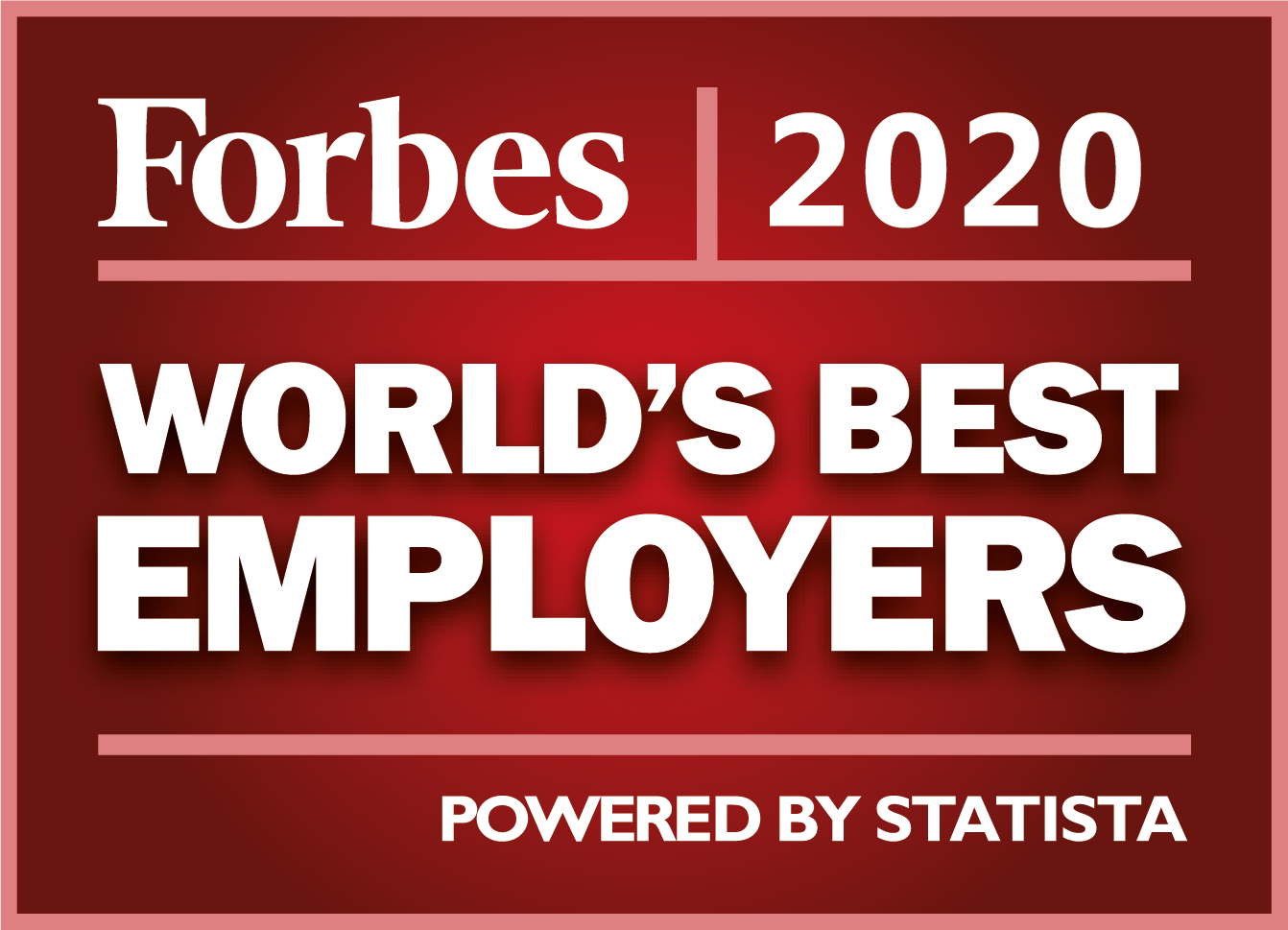 Forbes World's Best Employers - 2020
